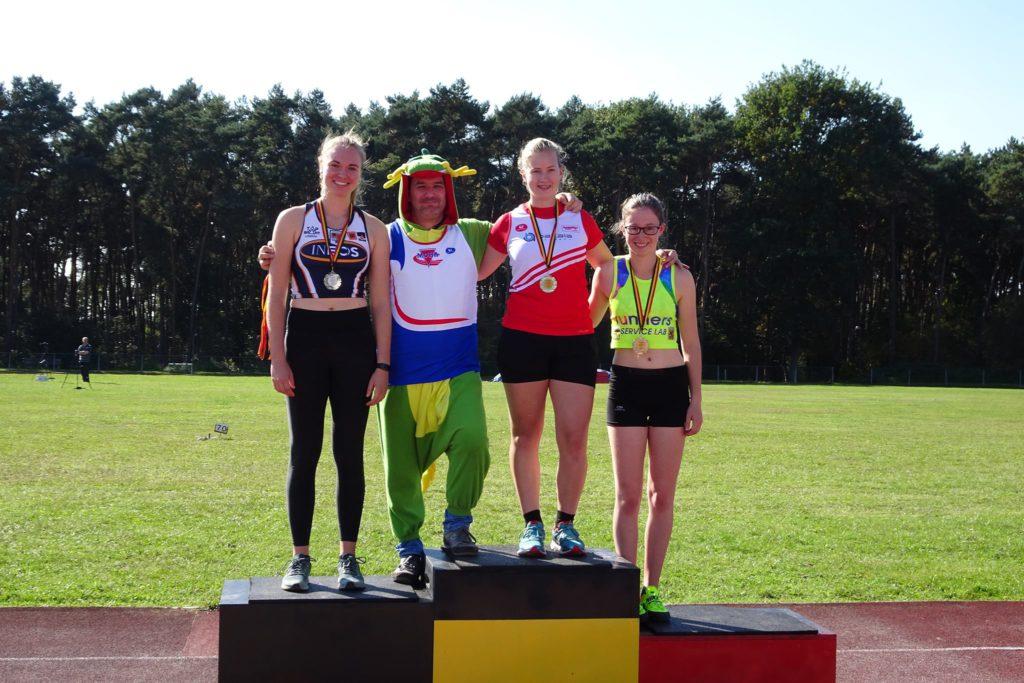 Belgisch kampioenschap hamerslingeren in Obourg