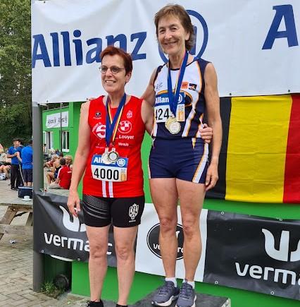 3 Belgische titels op het BK voor masters in Ninove