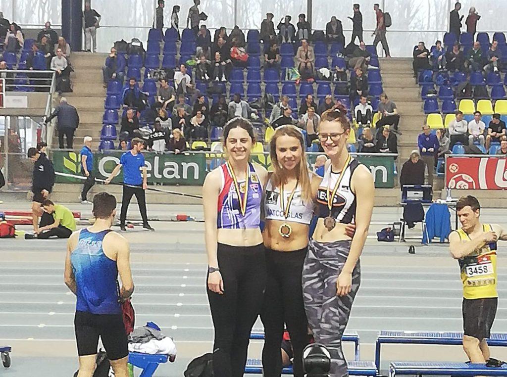 BK junioren-beloften indoor 2019 in Gent