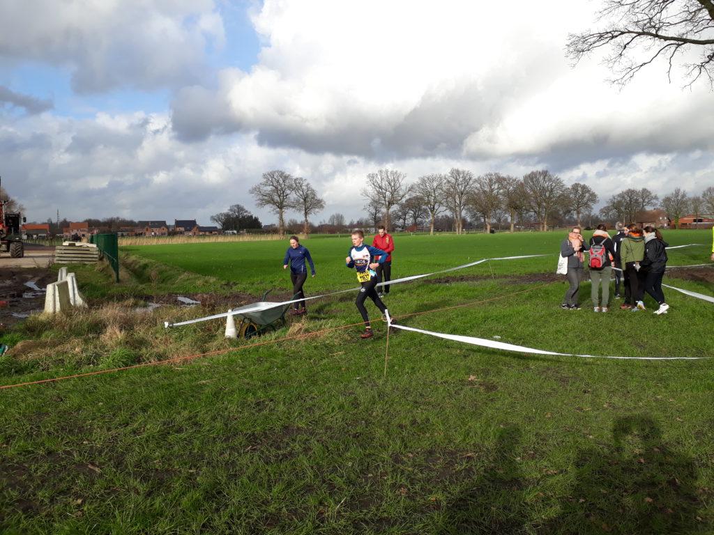5e kavvv criteriumcross Kalmthout in winderige maar wel droge omstandigheden