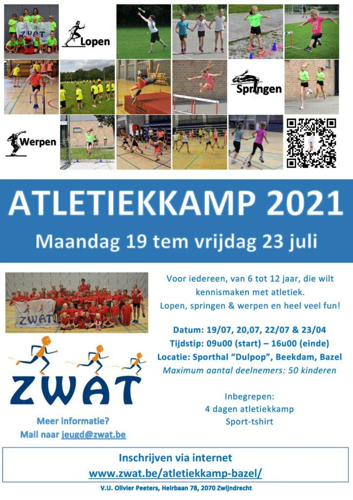 Atletiekkamp Bazel 2021